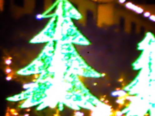 electric light christmas